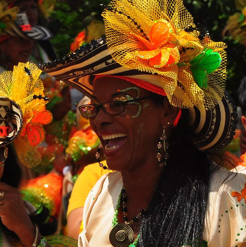 Carnaval 2009 In Het Caribisch Gebied Stock Photo